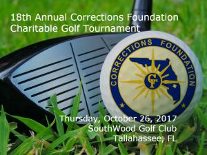 18th Annual Charitable Golf Tournament - SouthWood Golf Club - Tallahassee, FL 1