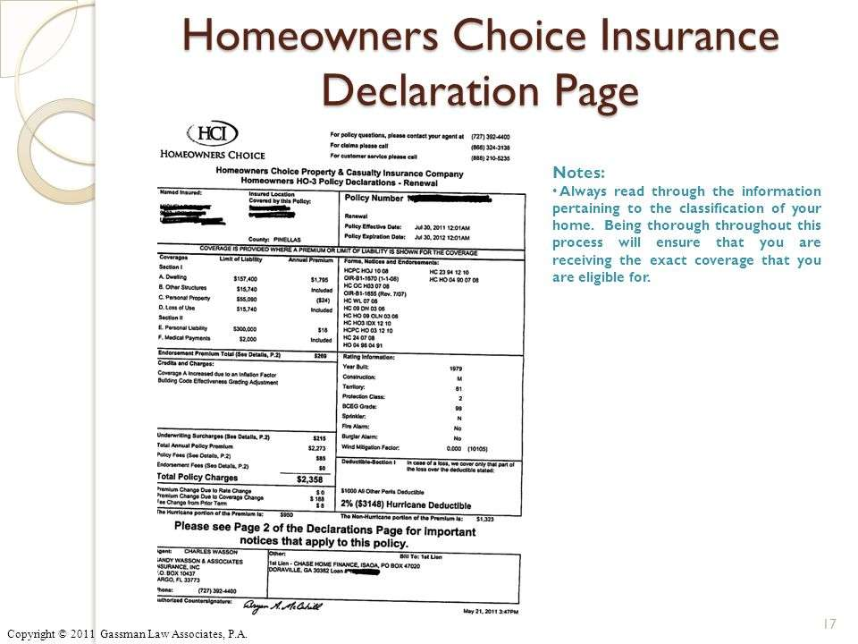 Property Insurance Information - Corrections Foundation